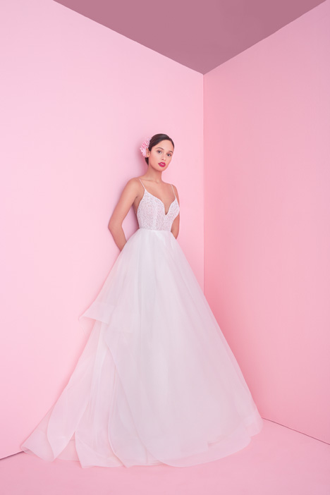 1853 Perri gown from the 2018 Blush by Hayley Paige collection, as seen on Bride.Canada