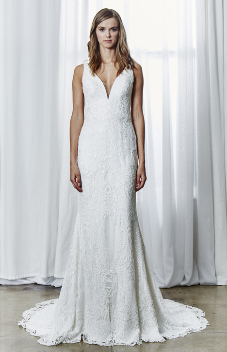 Adriene gown from the 2019 Kelly Faetanini collection, as seen on Bride.Canada