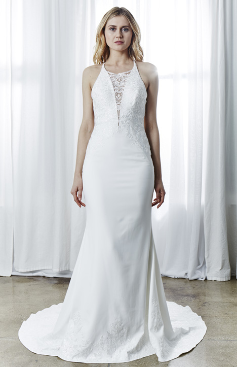 Angeline gown from the 2019 Kelly Faetanini collection, as seen on Bride.Canada