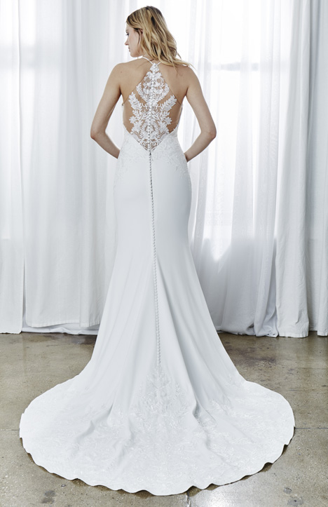 Angeline (Back) gown from the 2019 Kelly Faetanini collection, as seen on Bride.Canada