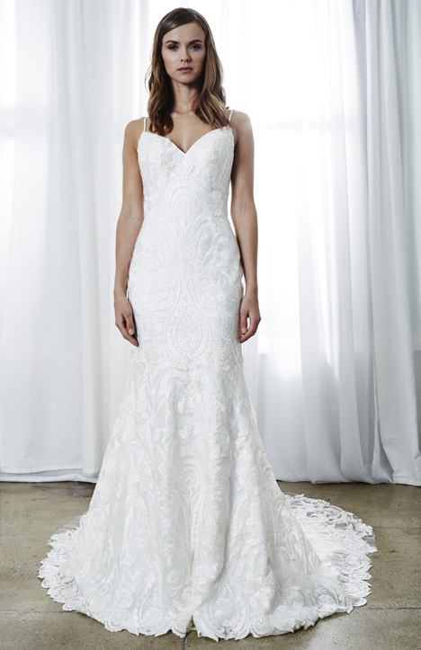Giselle gown from the 2019 Kelly Faetanini collection, as seen on Bride.Canada