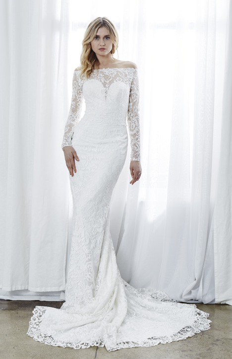 Eva (3) gown from the 2019 Kelly Faetanini collection, as seen on Bride.Canada