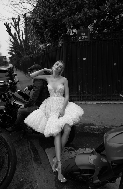 05 gown from the 2018 Inbal Dror collection, as seen on Bride.Canada