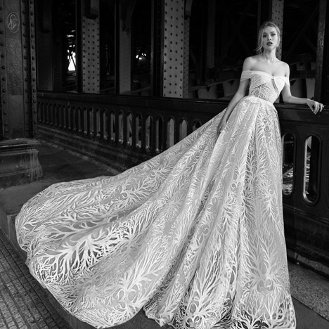 28 gown from the 2018 Inbal Dror collection, as seen on Bride.Canada