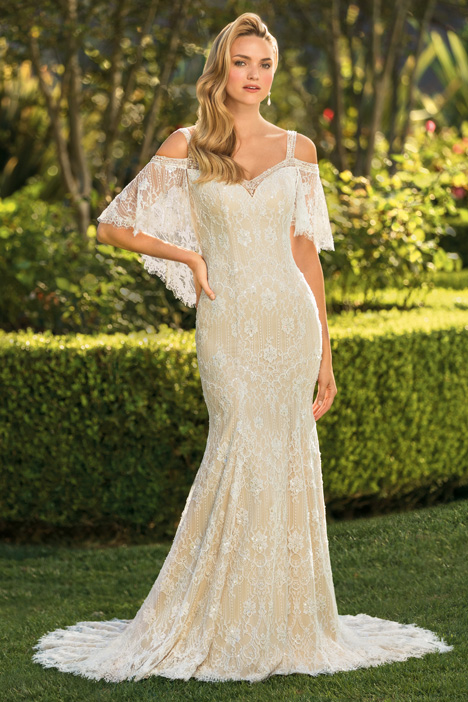 Perry gown from the 2018 Casablanca Bridal collection, as seen on Bride.Canada