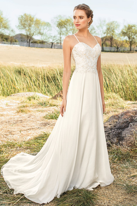 Suri gown from the 2018 Beloved By Casablanca collection, as seen on Bride.Canada