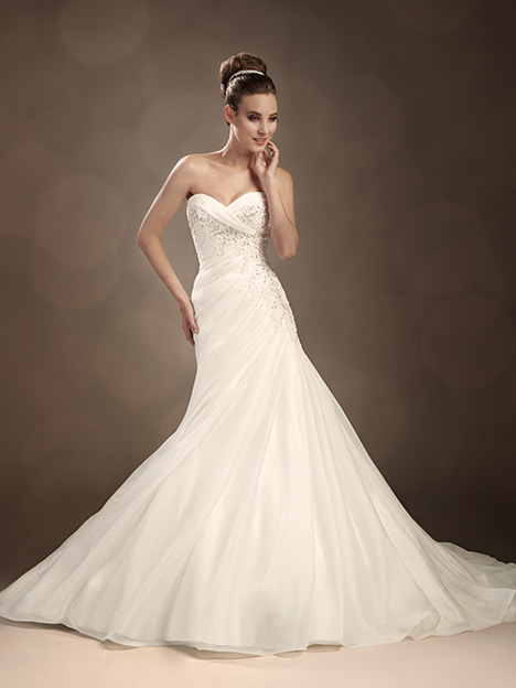 Octavia (Y11303) gown from the 2013 Sophia Tolli collection, as seen on Bride.Canada