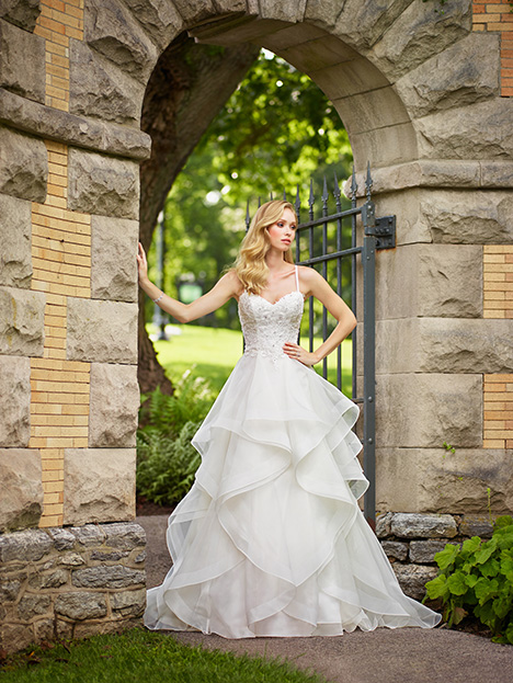 gown from the 2018 Enchanting by Mon Cheri collection, as seen on Bride.Canada