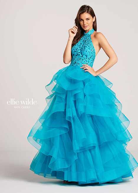 EW118048 gown from the 2018 Ellie Wilde collection, as seen on Bride.Canada