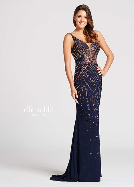 EW118049 gown from the 2018 Ellie Wilde collection, as seen on Bride.Canada