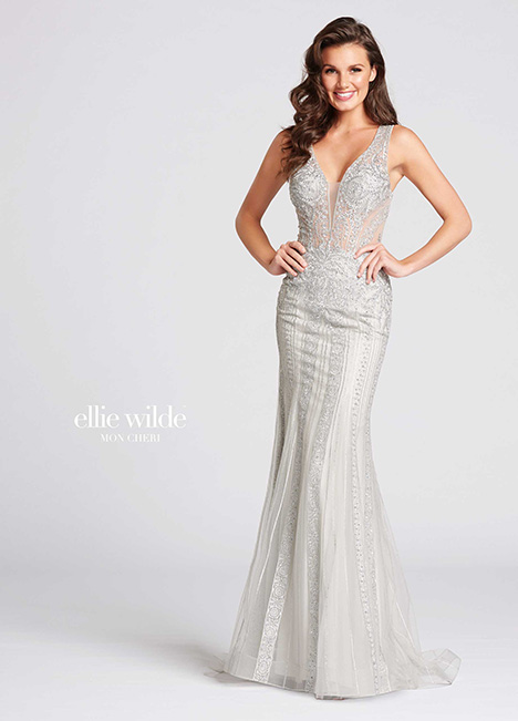 EW118054 gown from the 2018 Ellie Wilde collection, as seen on Bride.Canada