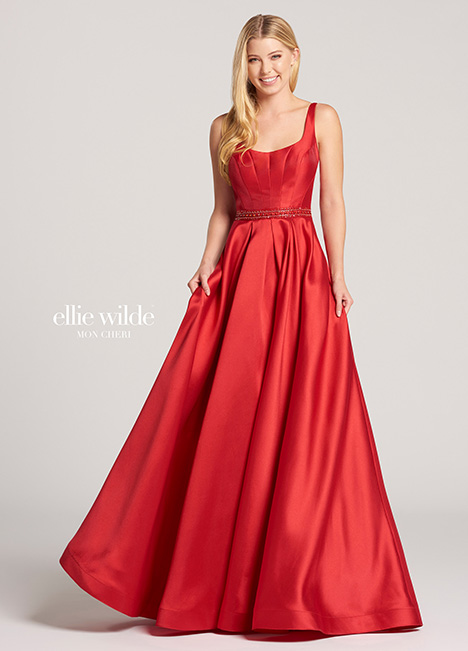EW118172 gown from the 2018 Ellie Wilde collection, as seen on Bride.Canada
