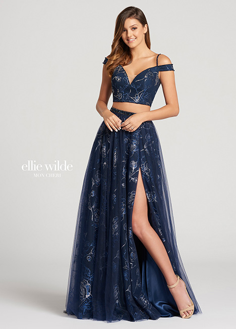 EW118174 gown from the 2018 Ellie Wilde collection, as seen on Bride.Canada