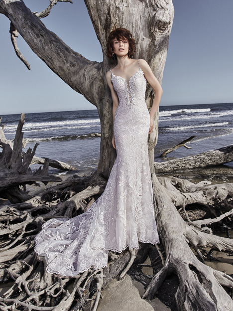 Ross gown from the 2018 Sottero and Midgley collection, as seen on Bride.Canada