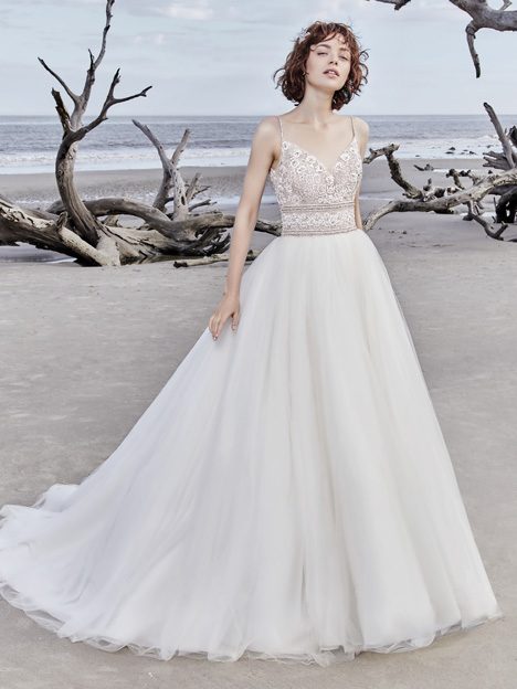 Saylor Rose gown from the 2018 Sottero and Midgley collection, as seen on Bride.Canada