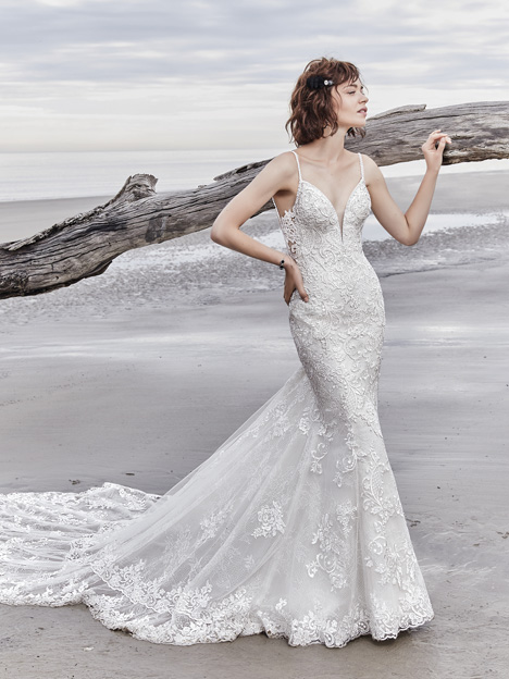 Sullivan Rose gown from the 2018 Sottero and Midgley collection, as seen on Bride.Canada