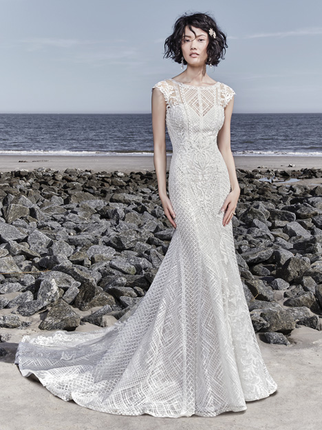 Sutton gown from the 2018 Sottero and Midgley collection, as seen on Bride.Canada