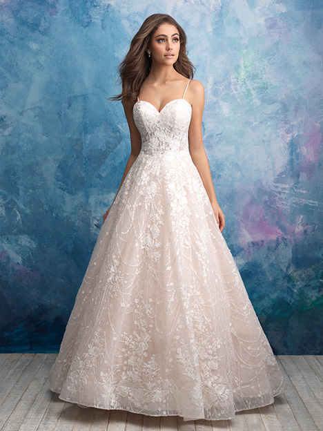 gown from the 2018 Allure Bridals collection, as seen on Bride.Canada