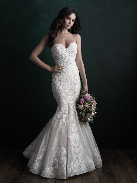 gown from the 2018 Allure Couture collection, as seen on Bride.Canada