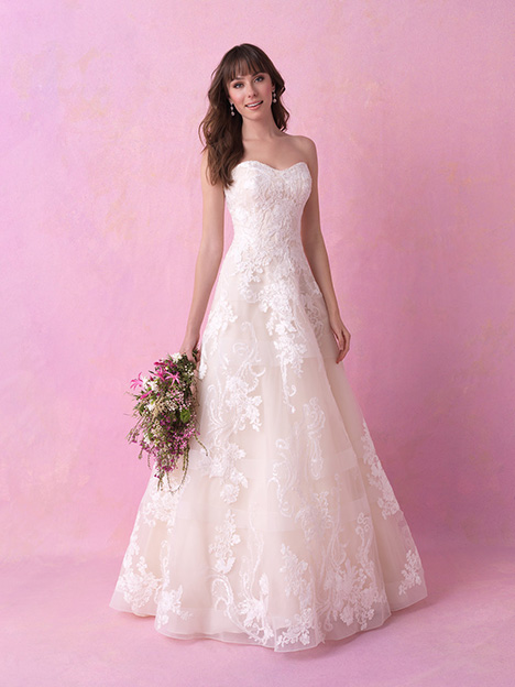 gown from the 2018 Allure Romance collection, as seen on Bride.Canada