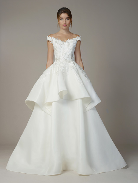 7801 gown from the 2018 Liancarlo collection, as seen on Bride.Canada