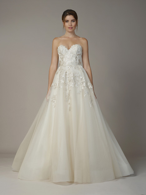 7803 gown from the 2018 Liancarlo collection, as seen on Bride.Canada