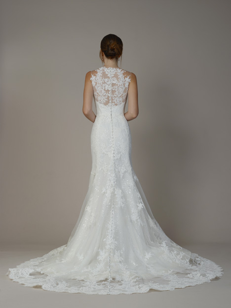 7806 (Back) gown from the 2018 Liancarlo collection, as seen on Bride.Canada