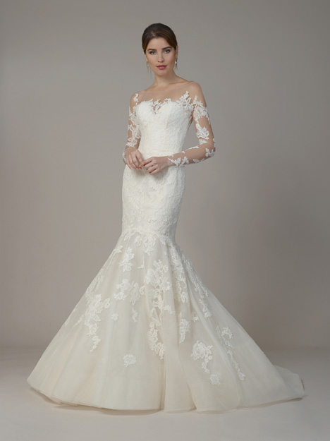 7807 gown from the 2018 Liancarlo collection, as seen on Bride.Canada
