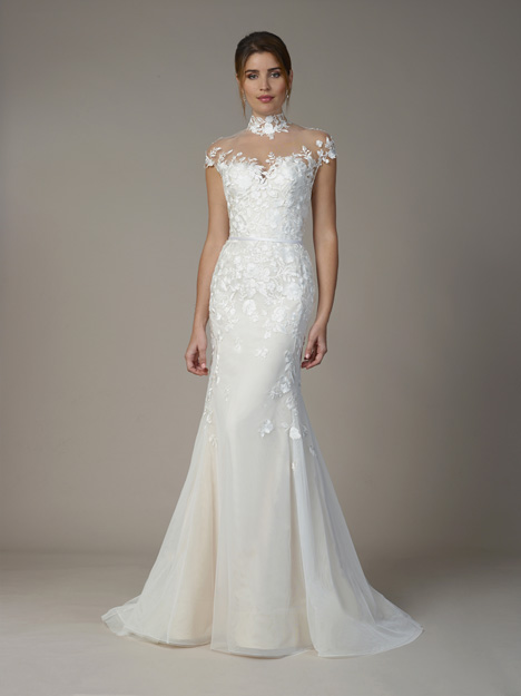 7814 gown from the 2018 Liancarlo collection, as seen on Bride.Canada