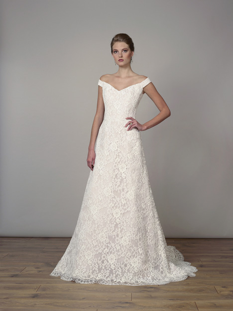 7821 gown from the 2019 Liancarlo collection, as seen on Bride.Canada