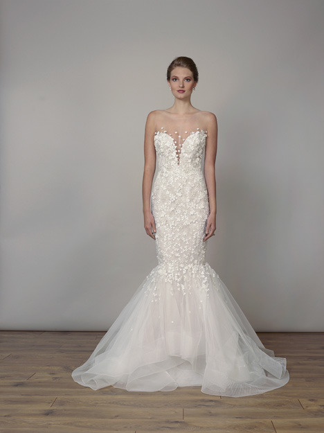 7823 gown from the 2019 Liancarlo collection, as seen on Bride.Canada