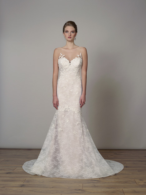 7826 gown from the 2019 Liancarlo collection, as seen on Bride.Canada