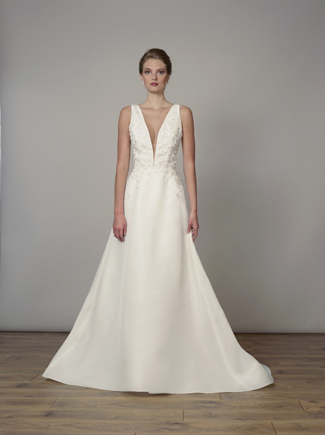 7827 gown from the 2019 Liancarlo collection, as seen on Bride.Canada