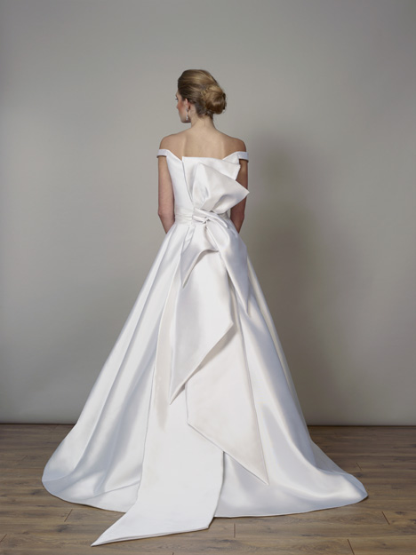 7829 (Back) gown from the 2019 Liancarlo collection, as seen on Bride.Canada