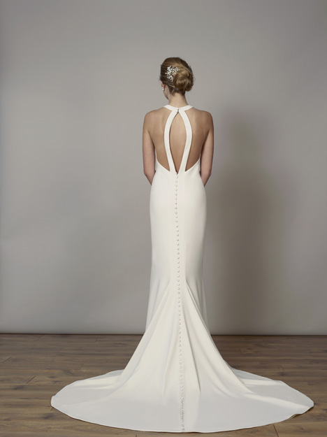 7830 (Back) gown from the 2019 Liancarlo collection, as seen on Bride.Canada