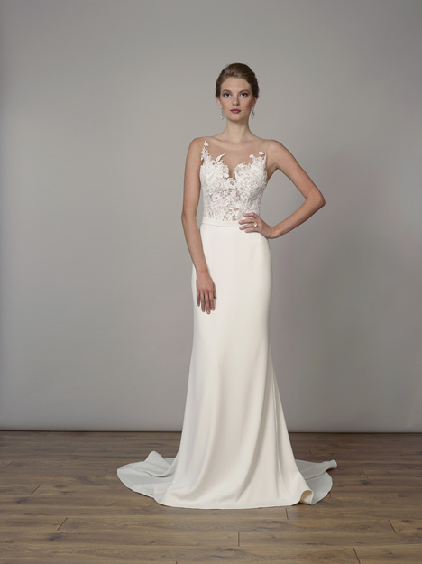 7832 gown from the 2019 Liancarlo collection, as seen on Bride.Canada