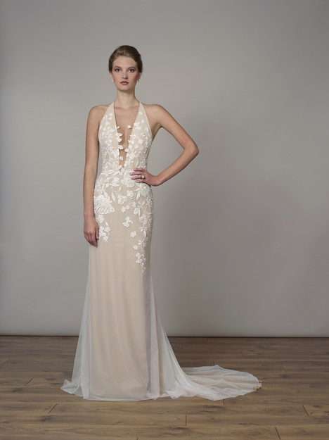 7833 gown from the 2019 Liancarlo collection, as seen on Bride.Canada