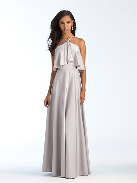 1556 gown from the 2018 Allure Bridesmaids collection, as seen on Bride.Canada