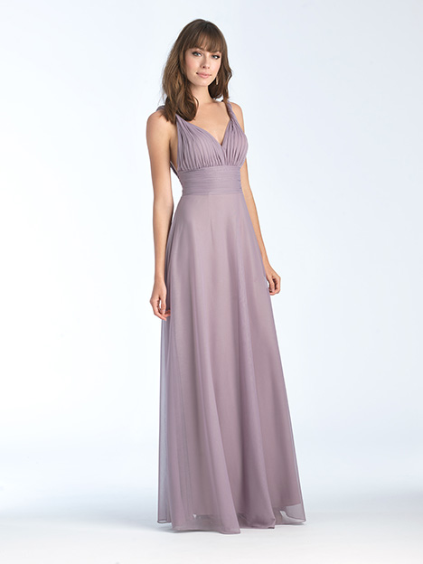 1568 gown from the 2018 Allure Bridesmaids collection, as seen on Bride.Canada