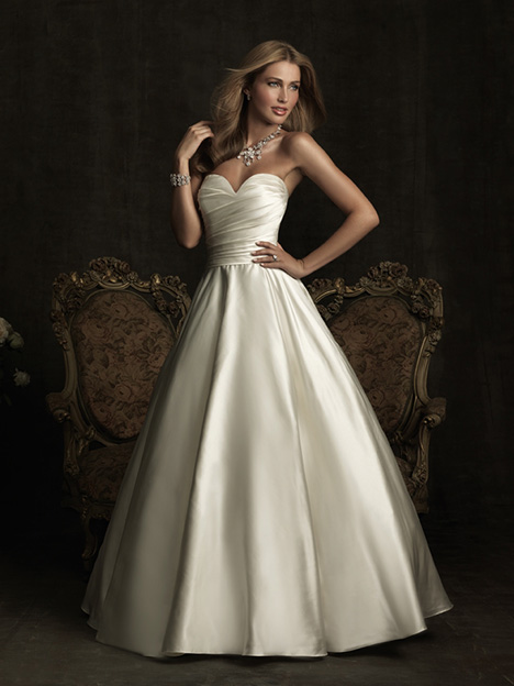 gown from the 2012 Allure Bridals collection, as seen on Bride.Canada