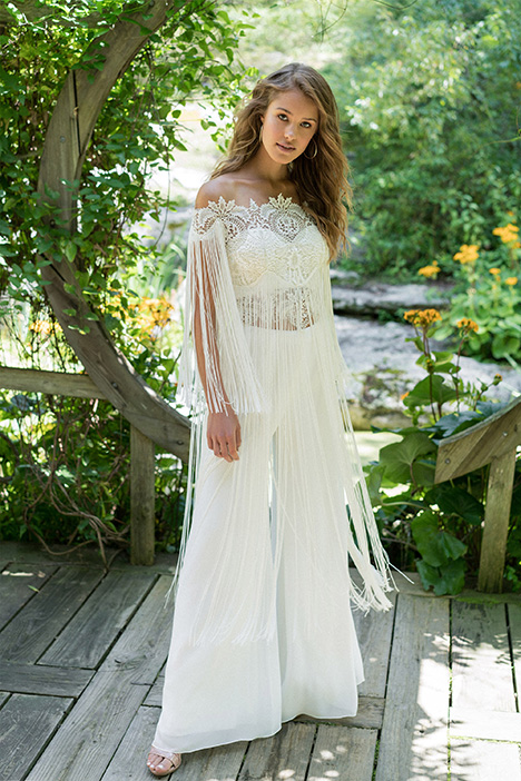 66000 (2) gown from the 2018 Lillian West collection, as seen on Bride.Canada