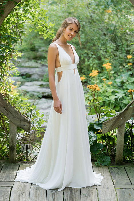 66001 gown from the 2018 Lillian West collection, as seen on Bride.Canada