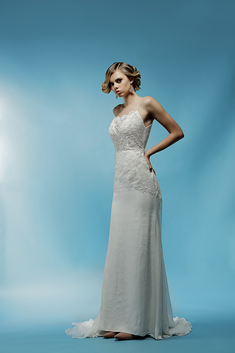 Simone gown from the 2018 Ivy & Aster collection, as seen on Bride.Canada
