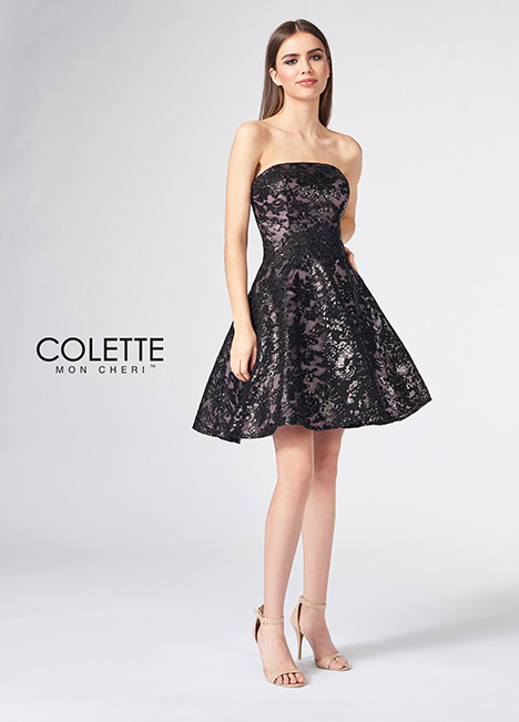 CL21854S gown from the 2018 Colette by Mon Cheri collection, as seen on Bride.Canada