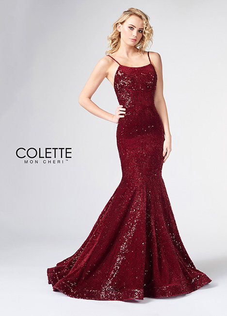 CL21862 gown from the 2018 Colette by Mon Cheri collection, as seen on Bride.Canada