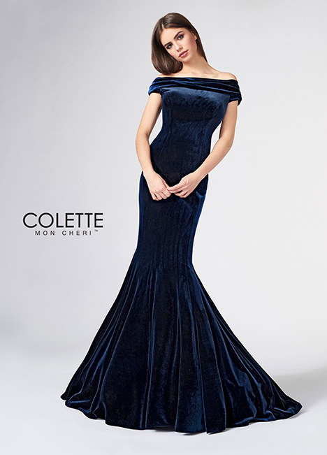 CL21869 gown from the 2018 Colette by Mon Cheri collection, as seen on Bride.Canada