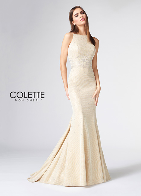 CL21877 gown from the 2018 Colette by Mon Cheri collection, as seen on Bride.Canada