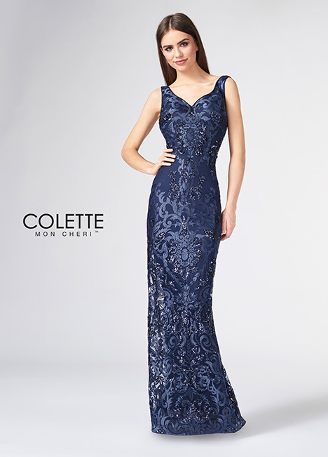 CL21886 gown from the 2018 Colette by Mon Cheri collection, as seen on Bride.Canada