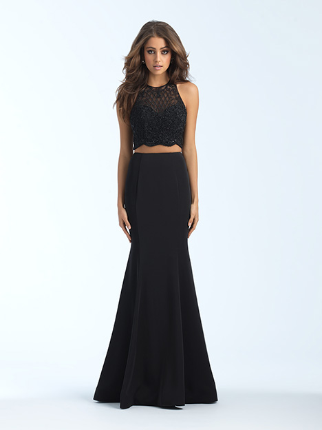 18-688 Black gown from the 2018 Madison James Special Occasion collection, as seen on Bride.Canada