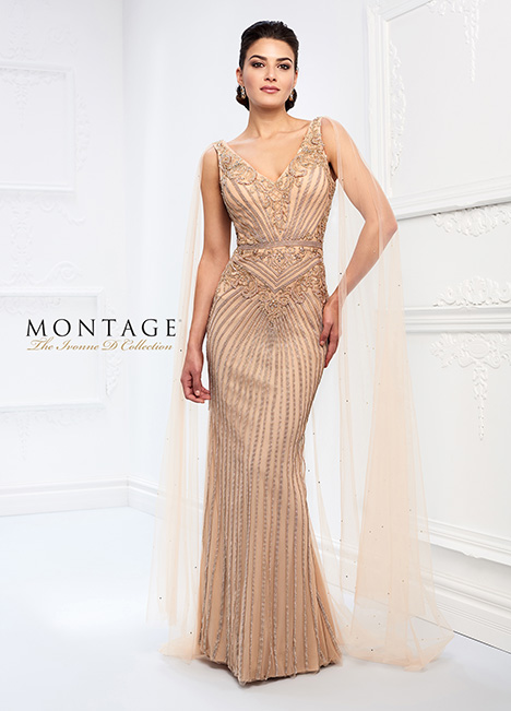 218D30 gown from the 2018 Montage: Ivonne D Collection collection, as seen on Bride.Canada